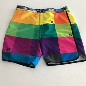 Hurley board shorts awesome colors